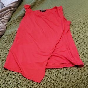 Red Split Top Tan